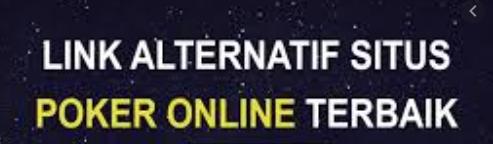 Situs Judi Online Selalu Menggunakan Link Artenatif