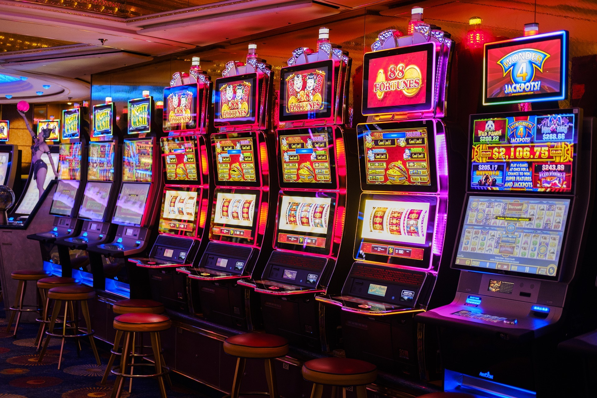 Mesin Slot Online Tidak Pernah Kosong